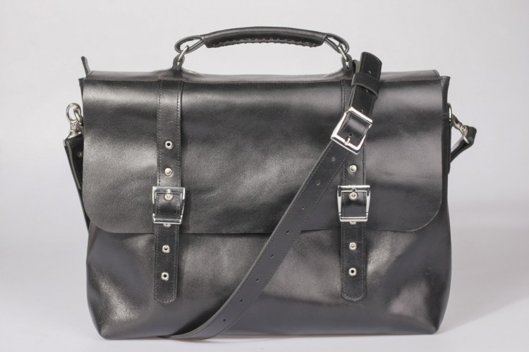 Antik black briefcase