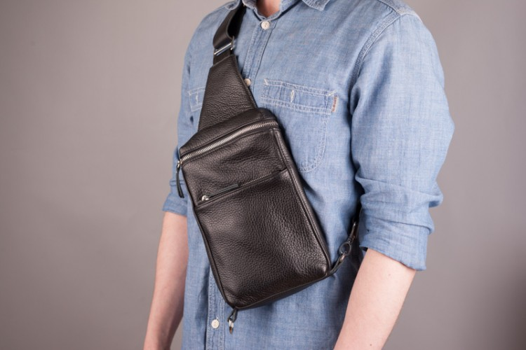 Black Arnold Chest Bag