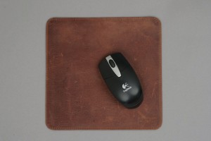 Mouse pad, brown